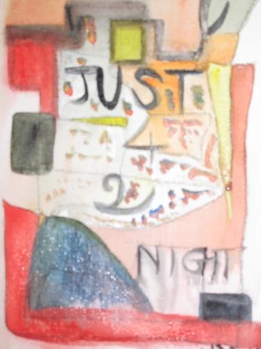 artiste peintre, acrylique, Noël solidaire, Carrosse, compagnonnage d'art